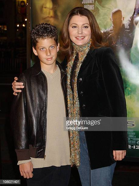 Jane Leeves nephew Colin during Star Trek Nemesis World Premiere at Grauman's Chinese Theatre in Hollywood California United States