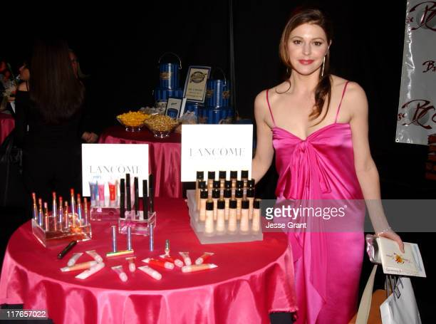 Jane Leeves with Lancome during 2004 Screen Actors Guild Awards Backstage Creations Talent Retreat Day Two at Shrine Auditorium in Los Angeles...