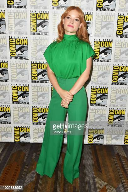 Jane Levy attends Hulu's 'Castle Rock' Press Line during ComicCon International 2018 at Hilton Bayfront on July 20 2018 in San Diego California