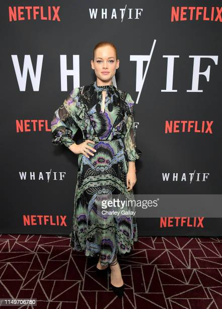 Jane Levy attends Netflix's 'WHAT / IF' Special Screening at The London West Hollywood on May 16 2019 in West Hollywood California