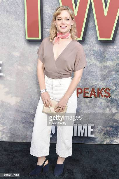 Jane Levy attends the World Premiere Of Showtime's 'Twin Peaks' at The Theatre at Ace Hotel on May 19 2017 in Los Angeles California