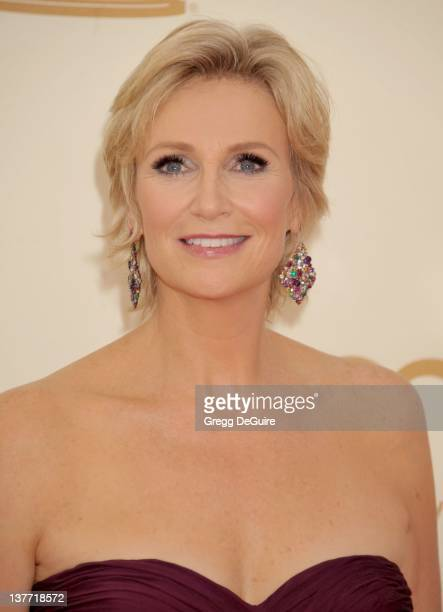 Jane Lynch arrives at the Academy of Television Arts Sciences 63rd Primetime Emmy Awards at Nokia Theatre LA Live on September 18 2011 in Los Angeles...