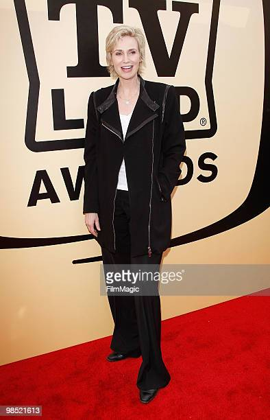 Jane Lynch arrives to the 8th Annual TV Land Awards held at Sony Pictures Studios on April 17 2010 in Culver City California