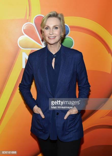 Jane Lynch at the NBCUniversal Summer TCA Press Tour at The Beverly Hilton Hotel on August 3 2017 in Beverly Hills California
