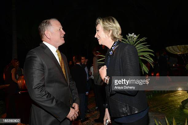 Jane Lynch attends An Evening Under The Stars Benefiting The LA Gay Lesbian Center on October 19 2013 in Los Angeles California