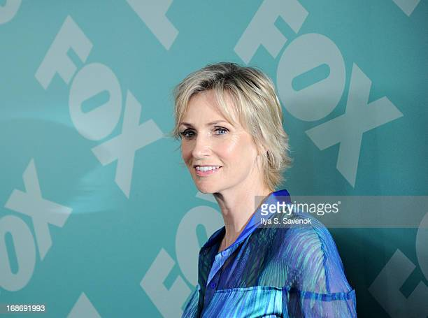 Jane Lynch attends FOX 2103 Programming Presentation PostParty at Wollman Rink Central Park on May 13 2013 in New York City