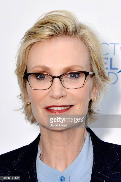 Jane Lynch attends Project Angel Food's 23rd Annual Angel Art ART=LOVE Benefit Auction at NeueHouse Hollywood on June 23 2018 in Los Angeles...