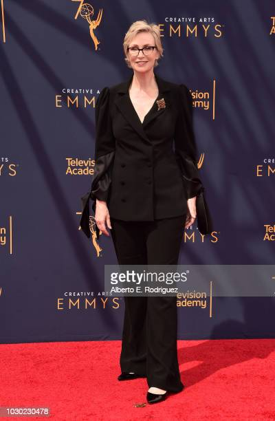 Jane Lynch attends the 2018 Creative Arts Emmys Day 2 at Microsoft Theater on September 9 2018 in Los Angeles California