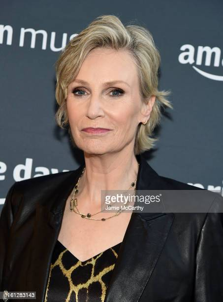 Jane Lynch attends the 2019 Amazon Prime Day Concert on July 10 2019 in New York City