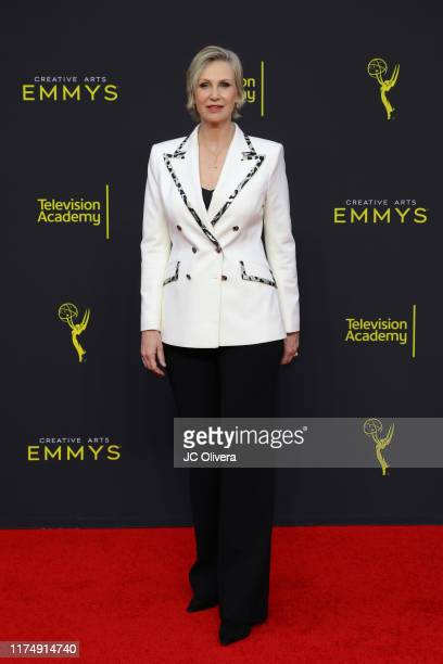 Jane Lynch attends the 2019 Creative Arts Emmy Awards on September 15 2019 in Los Angeles California