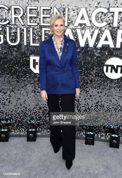 Jane Lynch attends the 26th Annual Screen Actors Guild Awards at The Shrine Auditorium on January 19 2020 in Los Angeles California