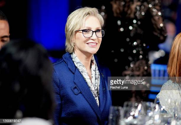 Jane Lynch attends the 26th Annual Screen ActorsGuild Awards at The Shrine Auditorium on January 19 2020 in Los Angeles California