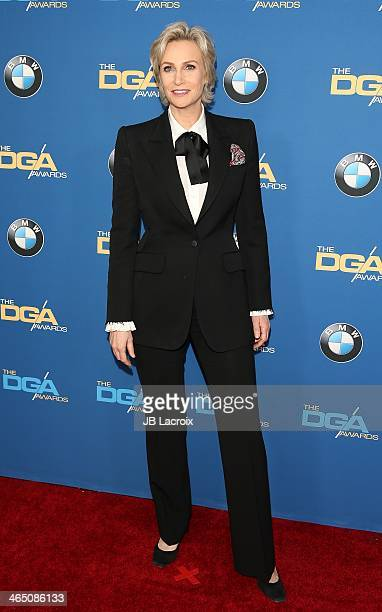 Jane Lynch attends the 66th Annual Directors Guild Of America Awards held at the Hyatt Regency Century Plaza on January 25, 2014 in Century City,...