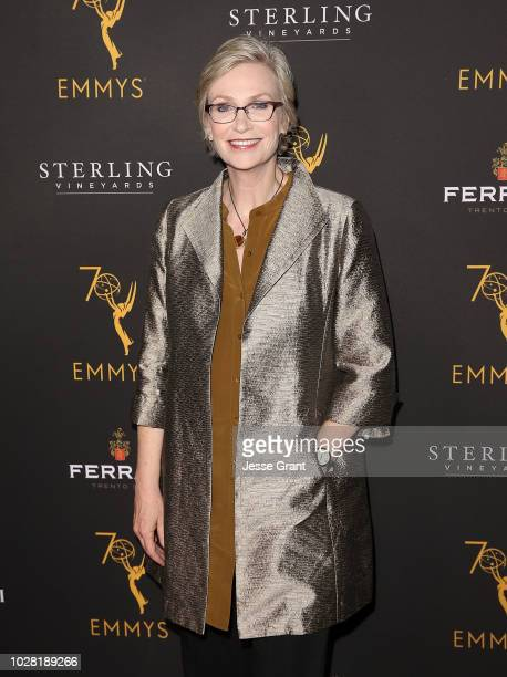 Jane Lynch attends the 70th Emmy Awards Nominees Reception for Outstanding Casting Directors at Mr C Beverly Hills on September 6 2018 in Beverly...