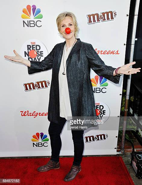 Jane Lynch attends the Red Nose Day Special on NBC at Alfred Hitchcock Theater at Universal Studios on May 26 2016 in Universal City California