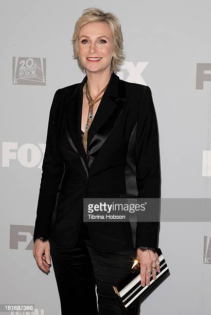 Jane Lynch attends the Twentieth Century FOX Television and FX Emmy Party at Soleto on September 22 2013 in Los Angeles California