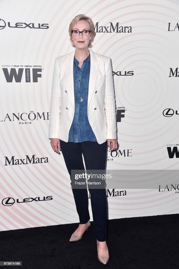 Jane Lynch attends the Women In Film 2018 Crystal + Lucy Awards presented by Max Mara, Lancôme and Lexus at The Beverly Hilton Hotel on June 13, 2018 in Beverly Hills, California.
