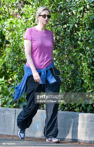 Jane Lynch is seen on April 30 2014 in Los Angeles California