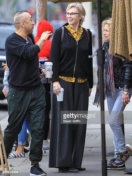 Jane Lynch is seen on January 18 2016 in Los Angeles California