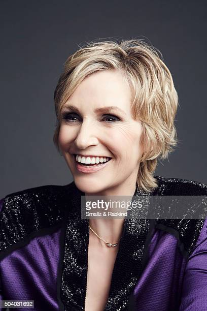 Jane Lynch poses for a portrait at the 2016 People's Choice Awards at the Microsoft Theater on January 6 2016 in Los Angeles California