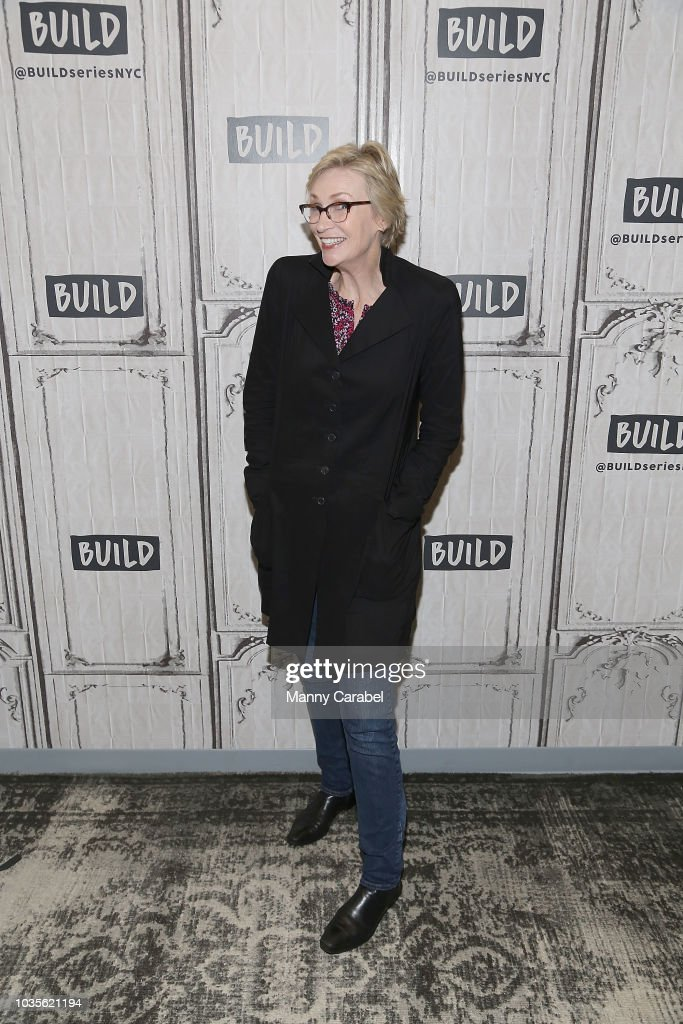 Jane Lynch visits Build Series to discuss 'Two Lost Souls' at Build Studio on September 18, 2018 in New York City.