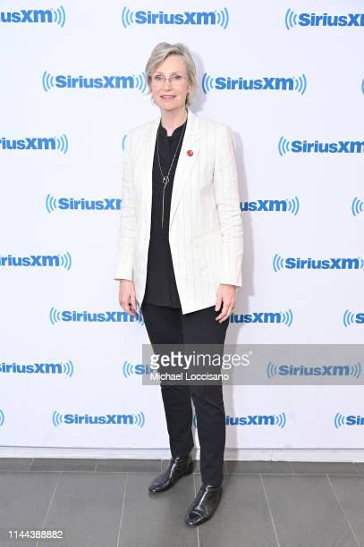 Jane Lynch visits SiriusXM Studios on April 22 2019 in New York City