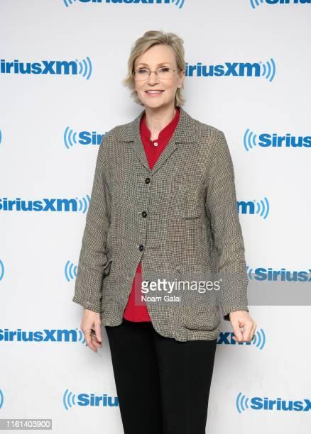 Jane Lynch visits the SiriusXM Studios on July 11 2019 in New York City