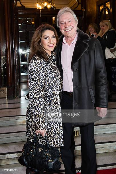 Jane MacDonald attends the opening night of Cinderella at London Palladium on December 14 2016 in London England Pantomime returns to the London...