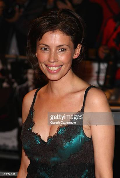 Jane March arrives at the Dead Man Running UK Film Premiere at Odeon West End on October 22, 2009 in London, England.