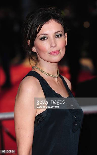 Jane March arrives at the World Film Premiere of 'Clash of the Titans' at the Empire Leicester Square on March 29 2010 in London England