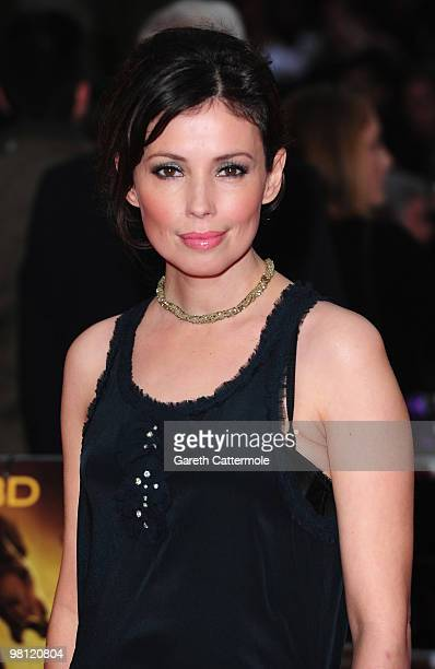 Jane March arrives at the World Film Premiere of 'Clash of the Titans' at the Empire Leicester Square on March 29, 2010 in London, England.
