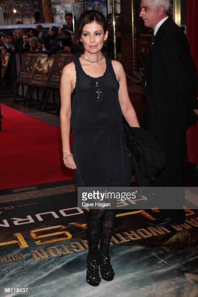 Jane March arrives at the world premiere of Clash Of The Titans held at the Empire Leicester Square on March 29 2010 in London England