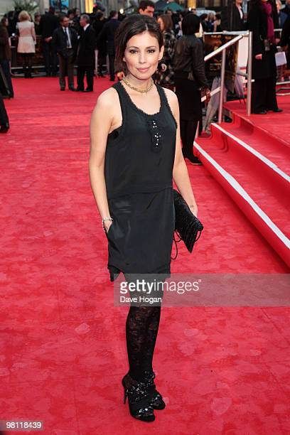 Jane March arrives at the world premiere of Clash Of The Titans held at the Empire Leicester Square on March 29, 2010 in London, England.