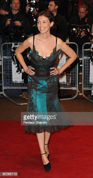 Jane March attends the UK Premiere of 'Dead Man Running' at Odeon Leicester Square on October 22, 2009 in London, England.