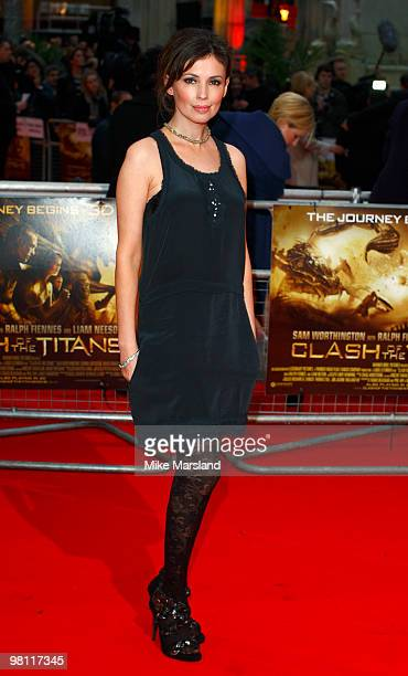 Jane March attends the World Premiere of Clash Of The Titans at the Empire Leicester Square on on March 29, 2010 in London, England.