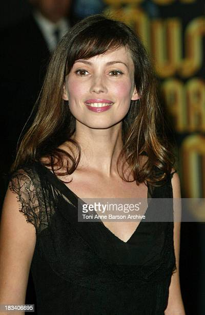 Jane March during 2003 Monte Carlo World Music Awards Arrivals at Monte Carlo Sporting Club in Monte Carlo Monaco