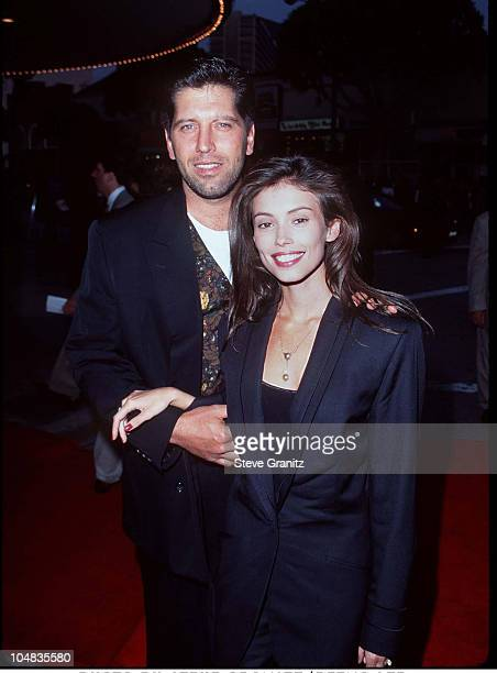"Jane March & Husband Carmine during ""Die Hard:With A Vengeance"" Los Angeles Premiere at Mann Village Theatre in Westwood, California, United States."