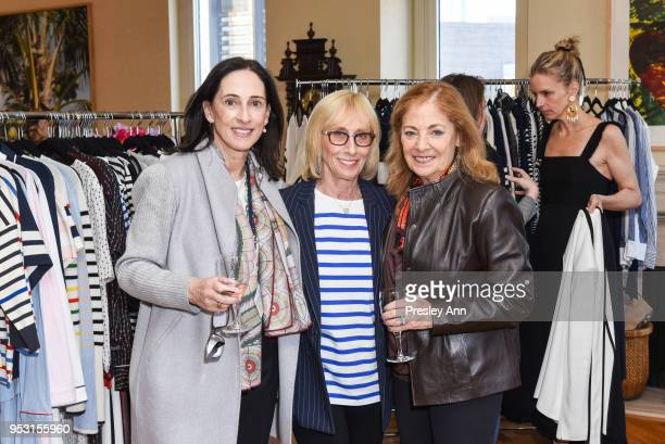 Jane Martin Jill Iscol and Margo Cohen at Riley Versa x La Ligne Party at 1220 Park Ave on April 26 2018 in New York City Jane MartinJill IscolMargo...