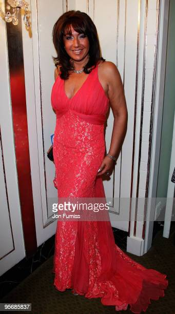Jane McDonald arrives at the TV Quick TV Choice Awards Held at the Dorchester Hotel on September 8 2008 in London England