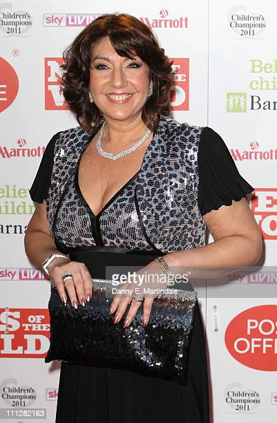 Jane McDonald attend the News Of The World Children's Champion Awards at The Grosvenor House Hotel on March 30 2011 in London England