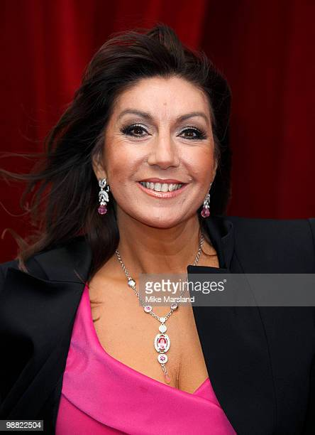 Jane McDonald attends 'An Audience With Michael Buble' at The London Studios on May 3, 2010 in London, England.