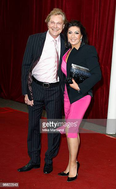 Jane McDonald attends 'An Audience With Michael Buble' at The London Studios on May 3 2010 in London England