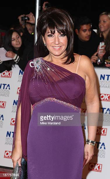 Jane McDonald attends the National Television Awards at the O2 Arena on January 25 2012 in London England
