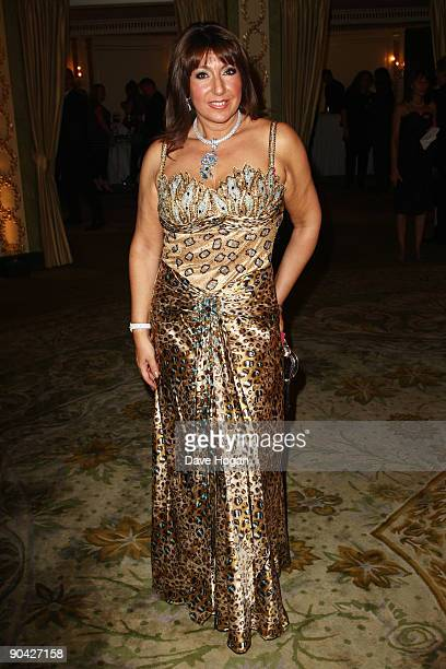 Jane McDonald attends the TV Quick TV Choice Awards champagne reception held at The Dorchester on September 7 2009 in London England