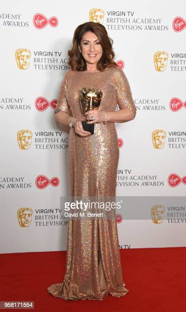 Jane McDonald attends the Virgin TV British Academy Television Awards at The Royal Festival Hall on May 13, 2018 in London, England.