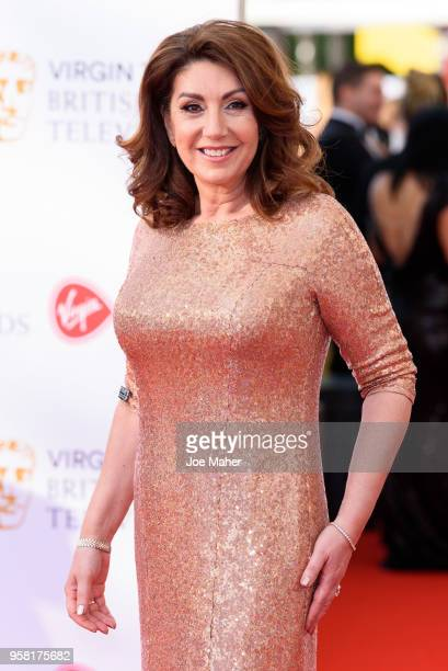 Jane McDonald attends the Virgin TV British Academy Television Awards at The Royal Festival Hall on May 13 2018 in London England