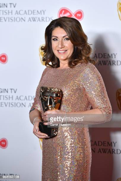 Jane Mcdonald in the press room during the Virgin TV British Academy Television Awards at The Royal Festival Hall on May 13 2018 in London England
