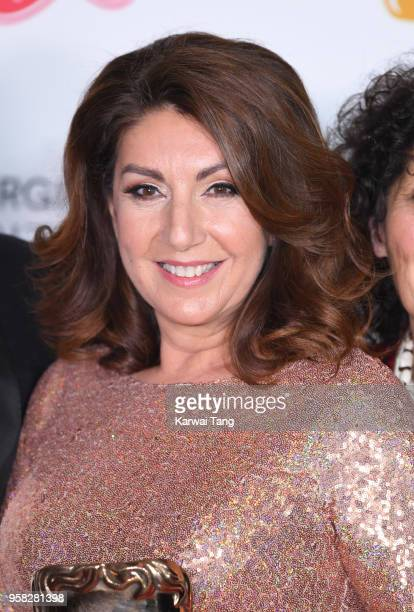 Jane McDonald poses in the press room during the Virgin TV British Academy Television Awards at The Royal Festival Hall on May 13 2018 in London...