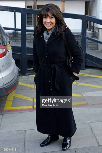 Jane McDonald sighted in London on February 1 2012 in London England