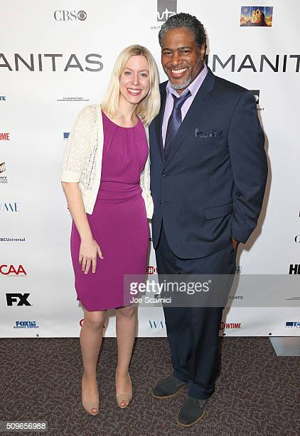Jane Miller finalist for Comedy Fellowship and President of the Humanitas Awards Ali LeRoi attend the 41st Humanitas Prize Awards Ceremony at...